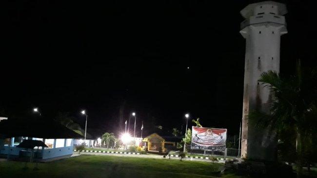 PLBN Skouw Akhirnya Kembali Terang Benderang, Listrik Sudah Menyala Sejak Minggu Malam Ini