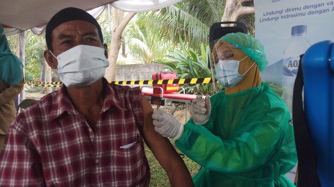 Hampir 90 Juta Orang Mendapatkan Dosis Pertama Vaksin Covid-19 di Indonesia