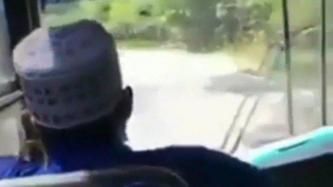 Beredar Video Detik-detik Laka Lantas Sugeng Rahayu di Madiun yang Mengakibatkan 7 Orang Jadi Korban
