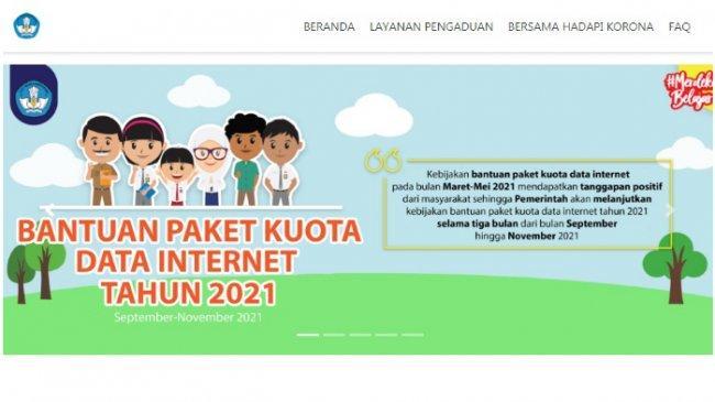 Bantuan Kuota Data Internet dan Bantuan UKT Tahun 2021 Dilanjutkan, Ini Jadwal Penyalurannya