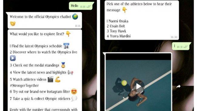 Wow! Update Jadwal dan Hasil Pertandingan Olimpiade Tokyo 2020 Bisa Diketahui Lewat WhatsApp