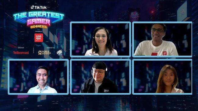 TikTok Gelar Kompetisi Antar Gamers di Indonesia