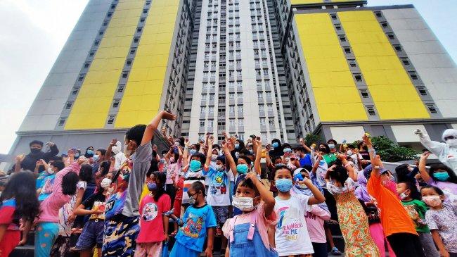 Jokowi: Kita Patut Bersyukur BOR Wisma Atlet Sudah 25 Persen