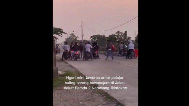 Marak Tawuran saat PTM di Karawang, Begini Reaksi Bupati Cellica dan Kapolres