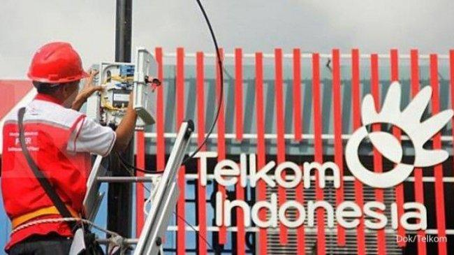 CatatkanDouble Digit, Laba Telkom Indonesia Rp 12,4 Triliundi Semester I-2021