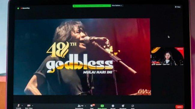 Lihat Ahmad Albar Cs di Konser 48 Tahun God Bless Bikin Ziva Magnolya Histeris, Ingin Lihat Aslinya