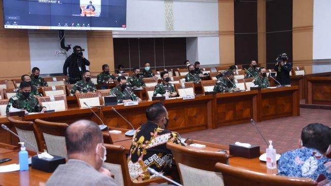 Prabowo Tak Hadir dalam Raker Tertutup Komisi I Bersama Kemenhan dan Panglima TNI