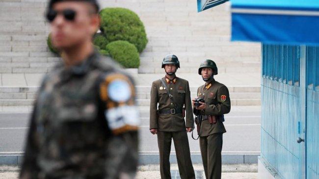 BREAKING NEWS Tentara Korea Utara dan Korea Selatan Saling Keluarkan Tembakan di Zona Demiliterisasi