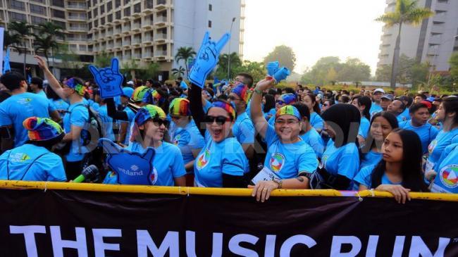 FWD Life Indonesia Gelar 'The Music Run'