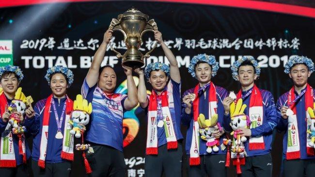 Fakta Menarik Piala Sudirman: Bukti Kejayaan China Kuasai Gelar Juara, Diikuti Korsel & Indonesia