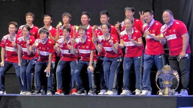 Piala Sudirman: Tim Bulutangkis China Juara Usai Kalahkan Jepang 3-1