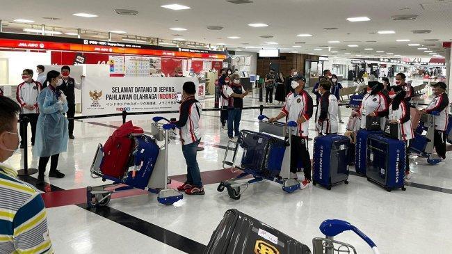 Dubes Heri Akhmadi Sambut Tim Olimpiade Indonesia