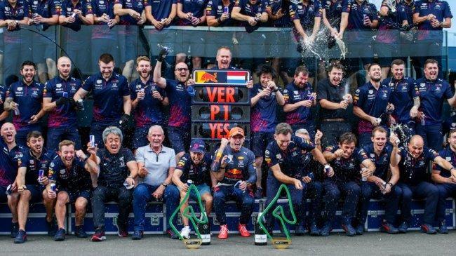 Tampil Dominan, Red Bull Honda Rengkuh Kemenangan Empat Kali Beruntun