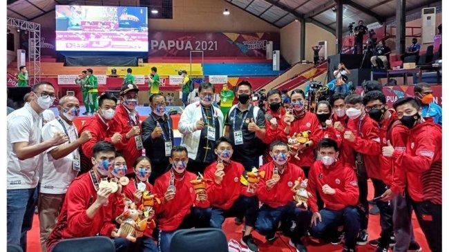 Tim Wushu DKI Jakarta Senang dan Bangga atas Perhatian dan Bonus dari Yanti Airlangga