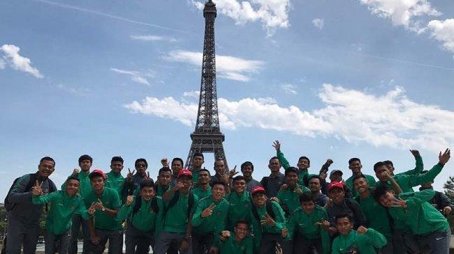 Timnas Indonesia U-19 Tersisih dari Turnamen Toulon 2017