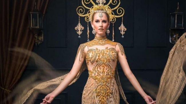 Terdaftar di Rans Cilegon FC Angel, Tiphaine Poulon Cintai Indonesia Usai Jadi Model Baju Padang