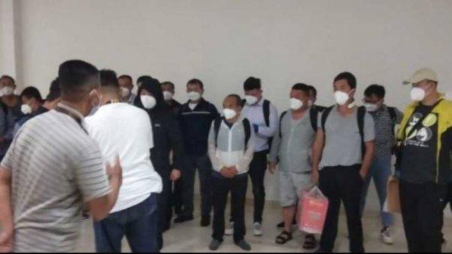 20 TKA China Masuk Indonesia di Makassar saat PPKM Darurat, Disnakertrans Sulsel: Mereka akan Kerja