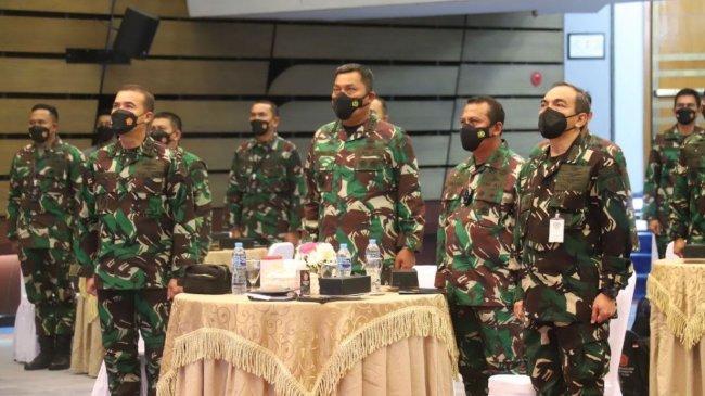 TNI Gelar Rakor Intelijen dan Sandi di Mabesau Cilangkap