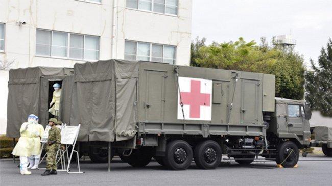 Anggota Pasukan Bela Diri Darat Jepang yang Bertugas untuk Olimpiade Tokyo Terinfeksi Covid-19