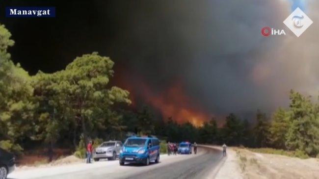 Dinilai yang Terparah selama 19 Tahun Terakhir, Kebakaran Hutan di Turki Disebut Seperti Neraka