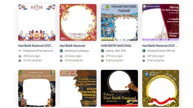 50 Link Twiboon Hari Batik Nasional 2 Oktober, Berikut Cara Membuat dan Bagikan di Media Sosial