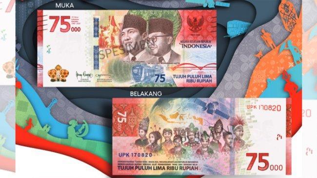Gubernur BI Jelaskan Cara Dapatkan Uang Rupiah Baru Pecahan Rp 75 Ribu