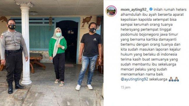 Anggota DPR Pertanyakan Aksi Orangtua Ayu Ting Ting yang Bisa Datangi Rumah Haters di Luar Kota