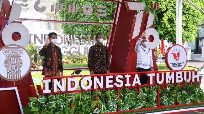 Sekretariat Presiden Luncurkan Pendaftaran Upacara Virtual HUT ke-76 RI
