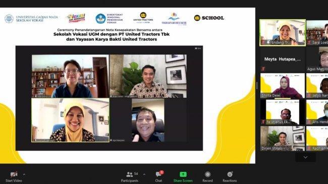Geliatkan Link and Match, UT Jalin Kerjasama dengan Sekolah Vokasi Universitas Gadjah Mada