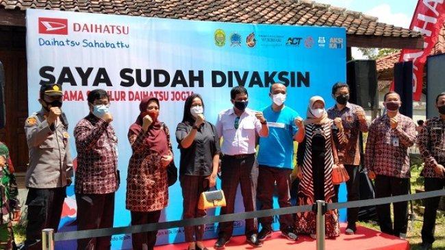 Dukung Program Vaksinasi Covid-19, Daihatsu Buka Empat Lokasi Vaksin Dosis Kedua di Yogyakarta