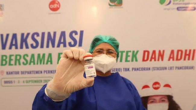 224 Ribu Vaksin AstraZeneca Dukungan Jepang Tiba di Indonesia