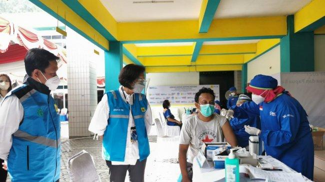Siap Amankan Kelistrikan PON XX Papua, PLN Vaksinasi 1.574 Petugas