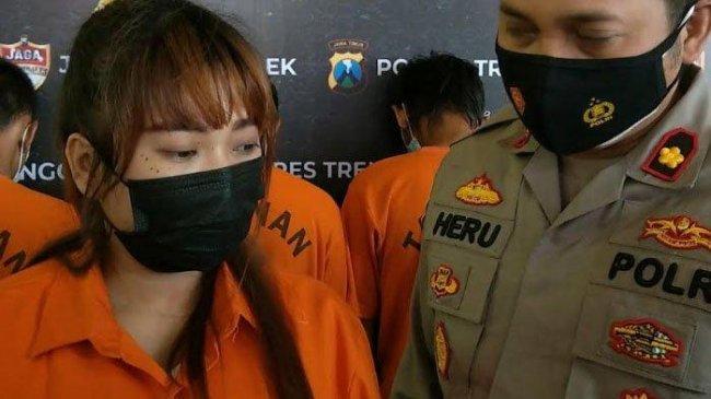 Lama Jadi Incaran Polisi, Cewek Cantik di Trenggalek Kedapatan Bisnis Kafe Nyambi Jualan Sabu