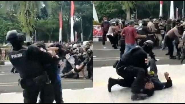 Polisi yang Banting Mahasiswa Ditahan, Polda Banten: Dijerat Pasal Berlapis