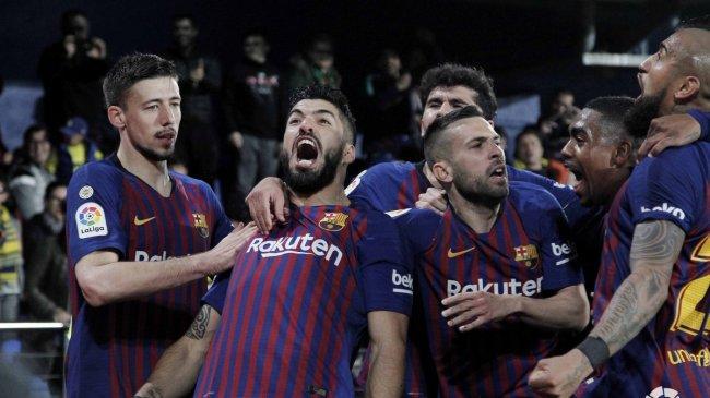 Live Score Hasil Akhir Barcelona vs Atletico Madrid, Dua Gol di Akhir Menit Buat Tuan Rumah Unggul