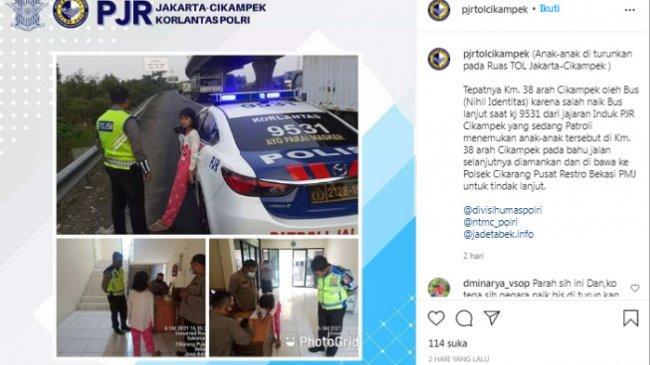 VIRAL Bocah Perempuan 7 Tahun Salah Naik Bus, Diturunkan di Pinggir Tol, Ini Nasibnya Sekarang