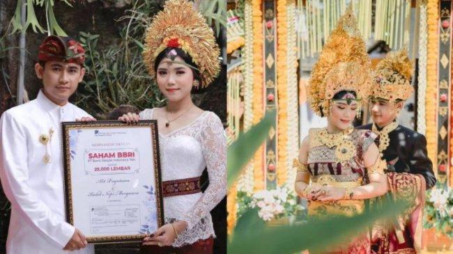 VIRAL Sosok Pria Beri Mahar Pernikahan 25 Ribu Lembar Saham BRI, Begini Pengakuannya