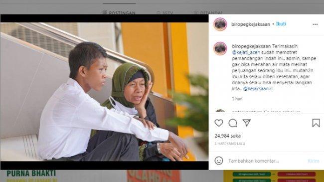 POPULER REGIONAL Viral Foto Ibu Temani Anak Tes CPNS | Anak di Lampung Habisi Ayah Kandung