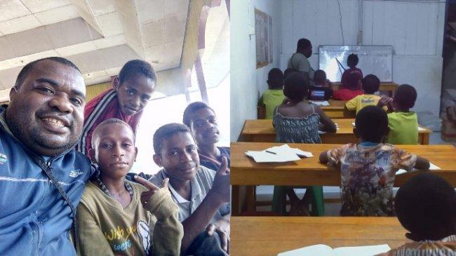 VIRAL Tukang Ojek Rawat Belasan Anak Pecandu Lem dan Narkoba di Papua, Ini Kisah Lengkapnya