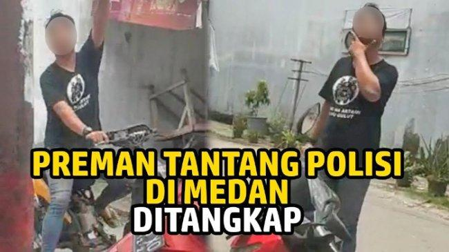 Viral Pria Palak Pedagang di Medan Tantang Polisi, Minta Uang Rp 2.000 untuk Pembinaan Organisasi
