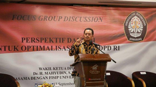 Mahyudin: Sistem Bikameral Indonesia Harus Berkaca dari Negara Besar