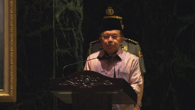 Wapres Jusuf Kalla Setuju BNN Diberi Kewenangan Lebih Tinggi