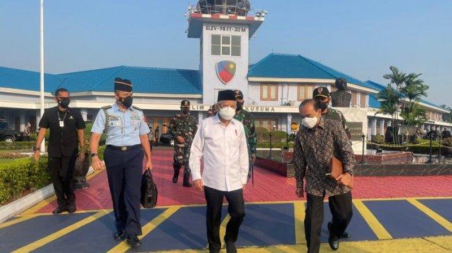 Ke Bandung, Wapres Ma'ruf Amin Tinjau Agrowisata dan Vaksinasi Wantannas