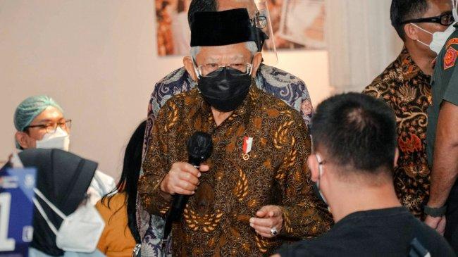 Pimpin Rapat Bahas RUU ASN, Wapres Maruf Amin Berpesan Jangan Ada Pelemahan