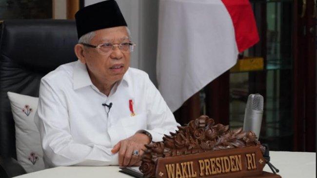 Dinilai Jarang Muncul ke Publik hingga Dicecar Soal Setahun Kinerja Jokowi, Ini Kata Ma'ruf Amin