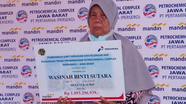 Warga Indramayu Jadi Miliarder, Dapat Ganti Rugi Proyek Petrochemical Complex, Ada yang Dapat Rp 1 M