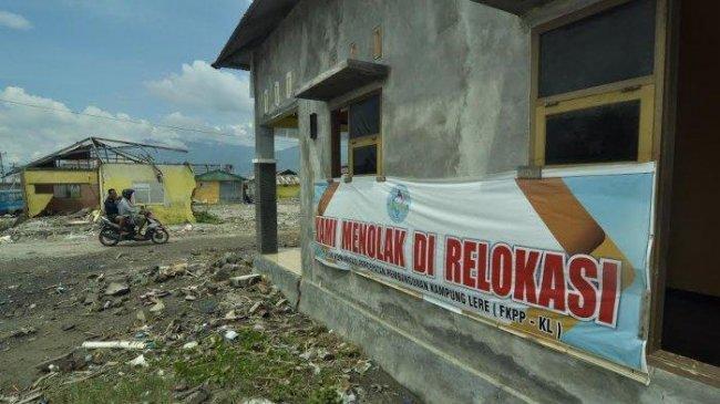 Korban Tsunami di Kelurahan Lere Palu Tolak Relokasi Hunian Tetap