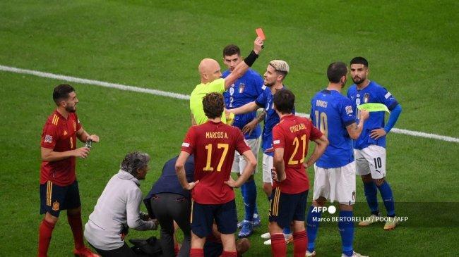 Fakta Kekalahan Italia Atas Spanyol, Semifinal UEFA Nations League, Rusaknya Rekor Unbeaten Azzurri