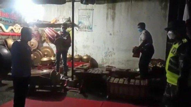 Gelar Pentas Wayang Kulit saat PPKM, Anggota DPRD Kabupaten Tulungagung Berurusan dengan Polisi