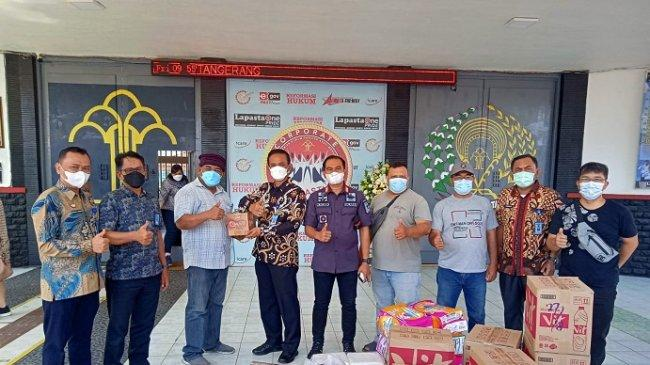 Mantan Narapidana Serahkan Bantuan untuk Lapas Kelas I Tangerang